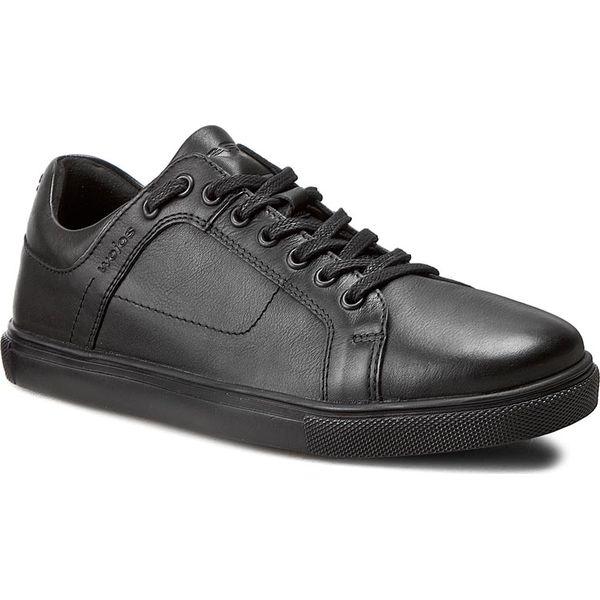 f1031e4e8cbda Sneakersy WOJAS - 6046-51 Czarny - Buty sportowe na co dzień męskie ...