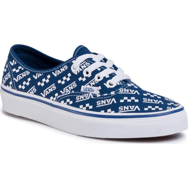 Tenisówki VANS Authentic VN0A2Z5IWH82 (Logo Repeat) Tr BlTr Wht