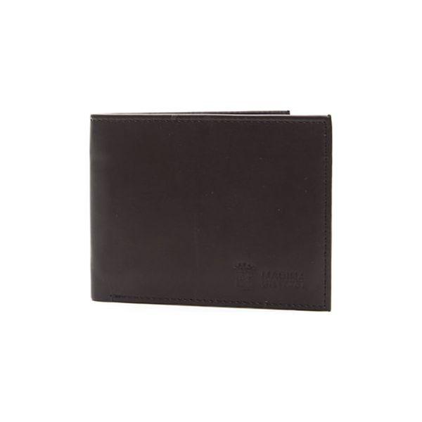 925c258279ffe Skórzany portfel w kolorze brązowym - (S)12,5 x (W)10 cm - Portfele ...