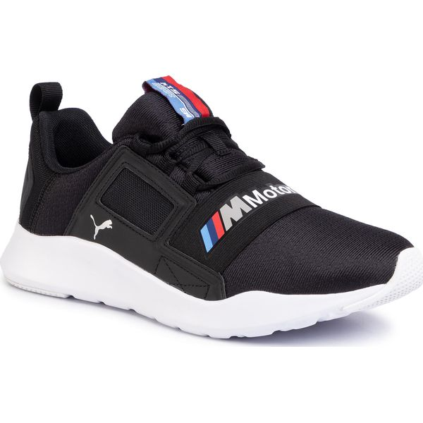 Sneakersy PUMA Bmw Mms Wired Cage 306504 01 P BlackP BlackP White