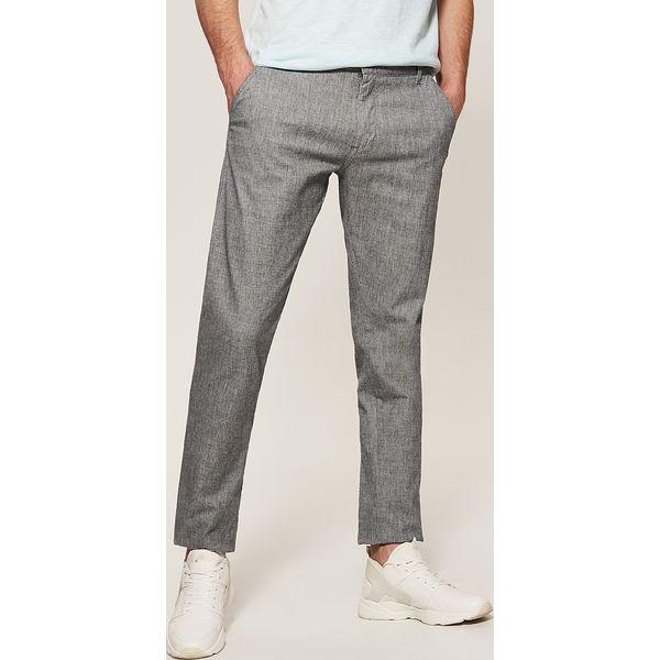 c6ea64dbed Spodnie typu chino - Wielobarwn - Szare eleganckie spodnie męskie marki  House. W wyprzedaży za 59.99 zł. - Eleganckie spodnie męskie - Spodnie i  szorty ...