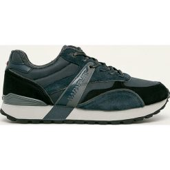 Niebieskie buty sportowe męskie Kolekcja zima 2020 Sklep