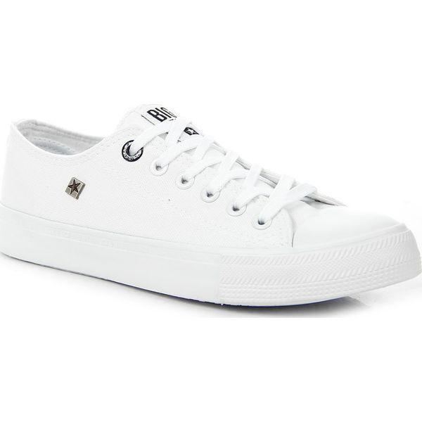 Trampki męskie całe białe Big Star AA174010 biały