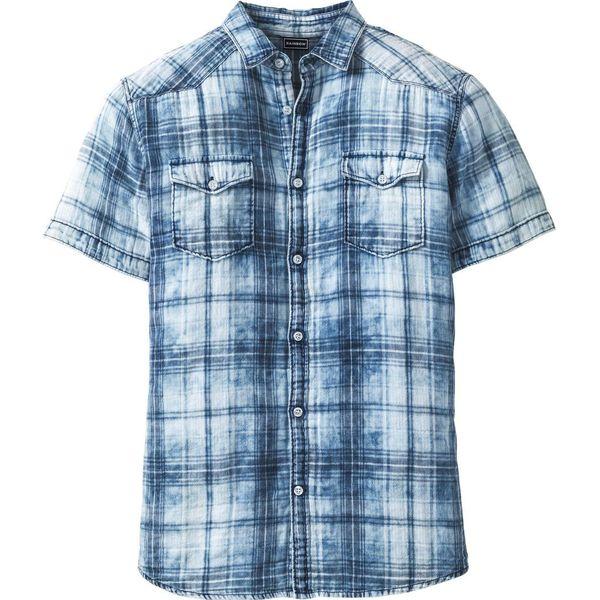 856b5e8e4e8783 Koszula z krótkim rękawem Slim Fit bonprix niebieski w kratę - Koszule  męskie bonprix. Za 109.99 zł. - Koszule męskie - Odzież męska - Moda dla  mężczyzn ...