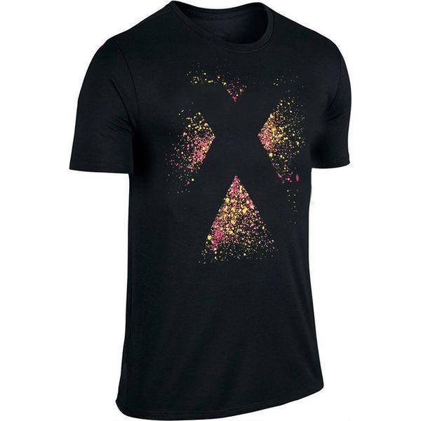 Adidas X Logo Tshirt AI5661 czarne, wielokolorowe XL