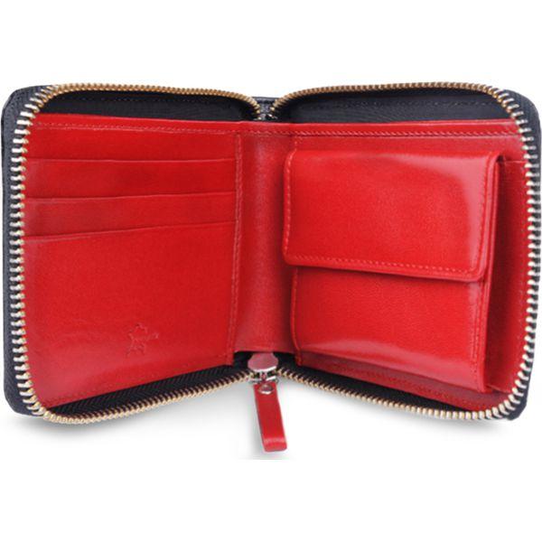 336ca0cfdca1d Portfel męski - Czarne portfele męskie marki Gino Rossi, ze skóry. W ...