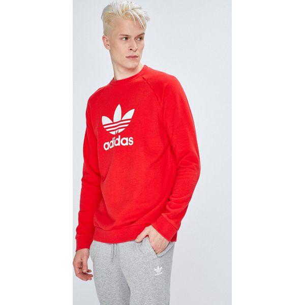 14712d955 adidas Originals - Bluza - Szare bluzy nierozpinane męskie marki ...