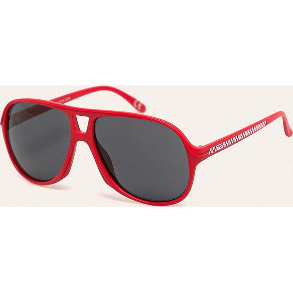 Vans Okulary VN0A45GOIZQ1 Czerwone okulary