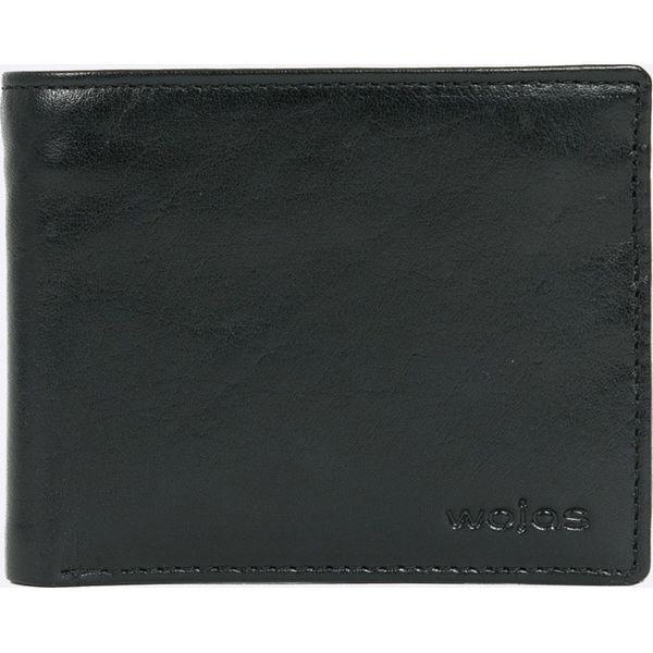 dd2a7af6c6a73 Wojas - Portfel skórzany - Czarne portfele męskie marki Wojas, z ...